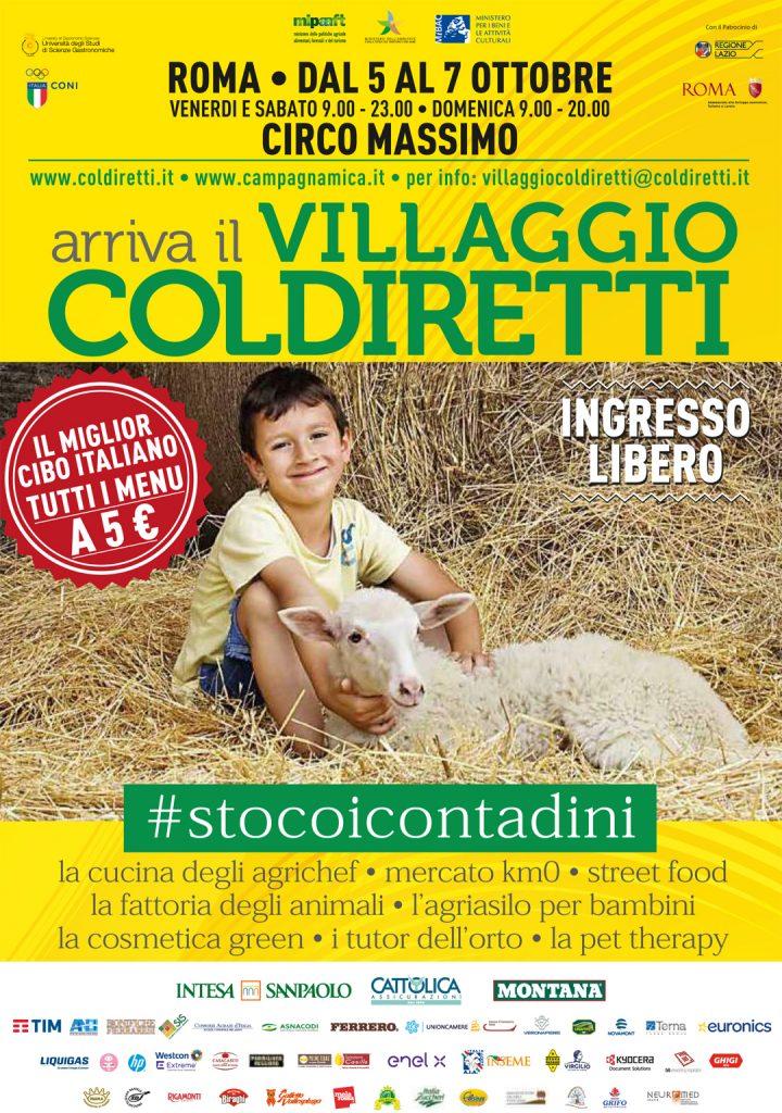 Arriva a Roma il Villaggio Coldiretti